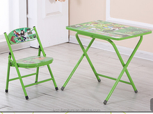 cheap folding study table and chair