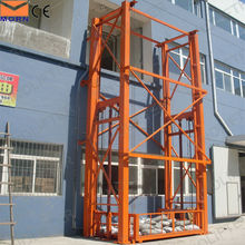 CE approved cargo elevator used in industrial