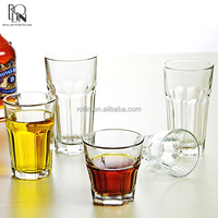 wholesale drinking glass cup manufacturer stock glassware stemless drink cups
