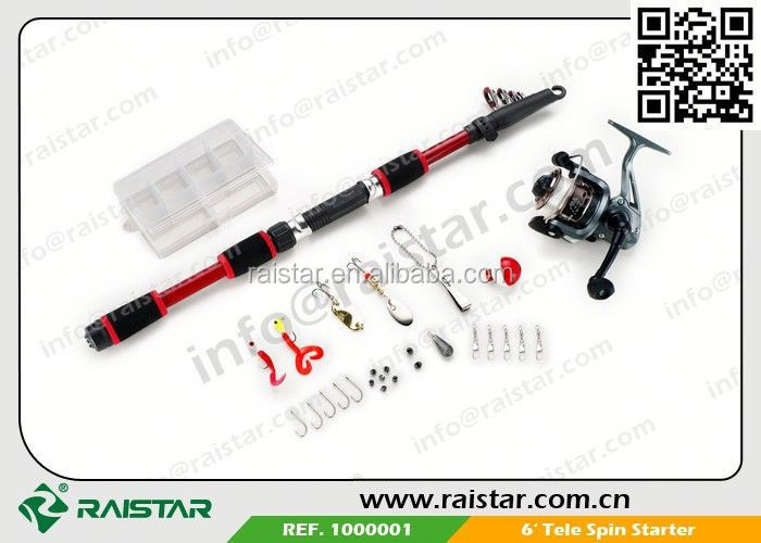 Fishing Rod&Reel&Accessory Mixed Fishing Tackle Combos bulk fishing tackle