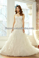 Designer Mermaid Wedding Dresses Patterns Country Style