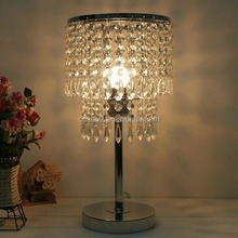 home decorative crystal table lamp made in china