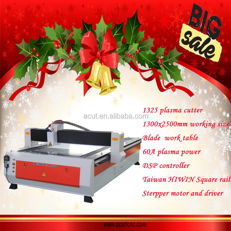 Iron/ Stainless Steel/ Aluminum/ Copper CNC Plasma Cutting Machine, Metal CNC Plasma Cutter