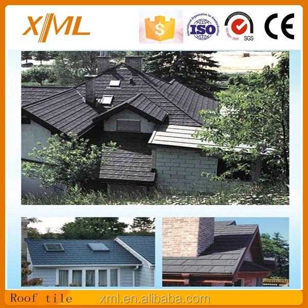 Galvanized&Aluminized Steel Plate Cheap Price Stone Coated Metal Roof Tile