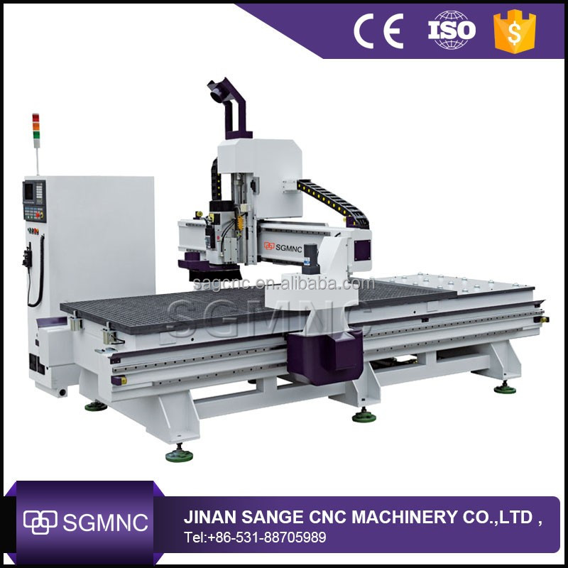 1325 ATC wood door cutting cnc router ,cnc knife cutting machine