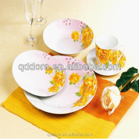 unbreakable microwavable dinnerware,qualitier tableware,ceramic lavender dinnerware