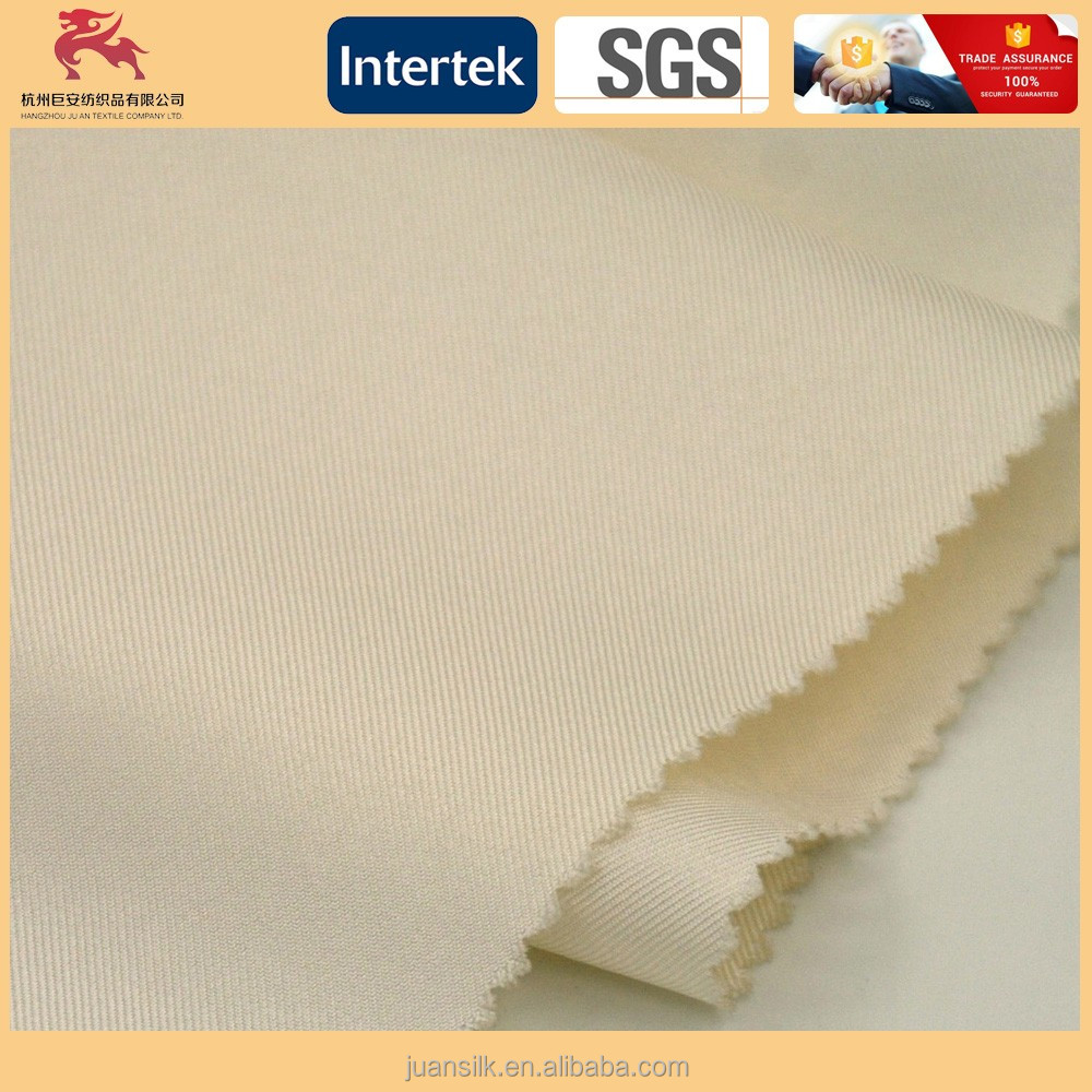 100% Silk twill fabric for dress 15.5M/M width:140cm Prepared for dyeing