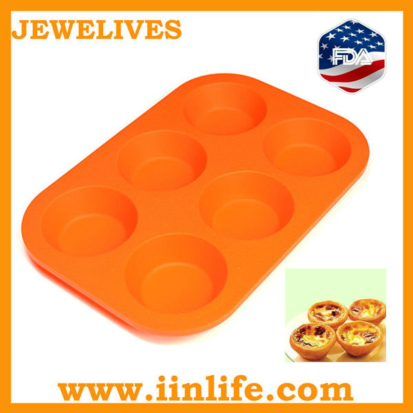 Silicone bakeware cup cake kitchen use