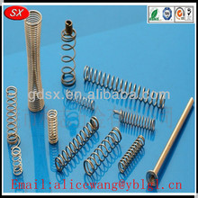 Customized steel ballpoint pen springs,pocket spring,recliner springs, ISO9001/RoHS