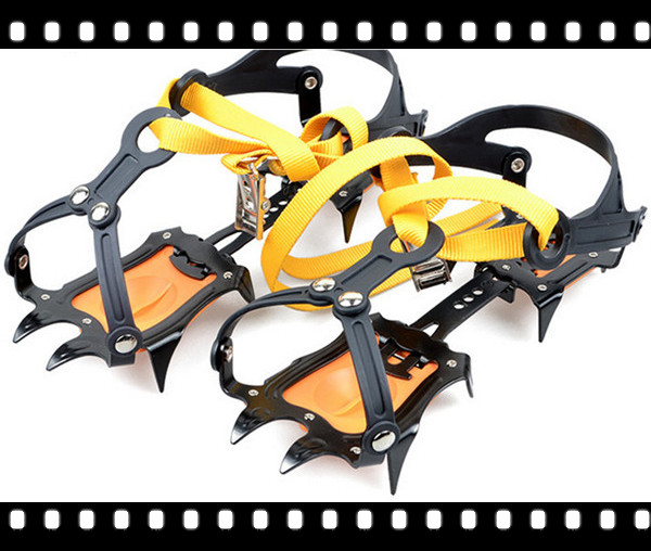 Altitude Slip-resistant Strong Ice Crampons Ski Snow Crampons Shoes Snow Walker for Climbing Walking Hiking DHL free shipping
