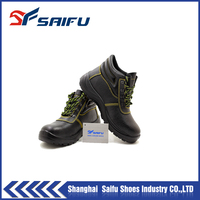 Industrial Woman steel toe safety shoes boots SF6951