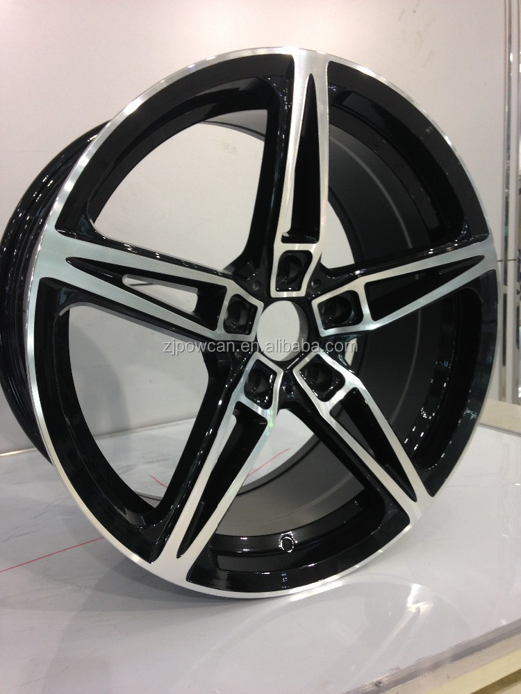 car wheels aluminum rims for Bm alloy car rims fit for 18 inch car wheels 5/120 with POWCAN and Baokang produce