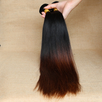 7A Remy Ombre Hair No Tangles And No Shed Hair Bundles Mongolian Hair Bundle