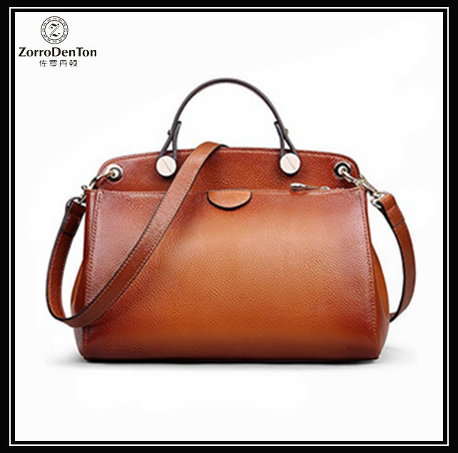 Women Vintage Itlian Genuine Leather Handmade Tote Cross Body Shoulder Messenger Hand Bag