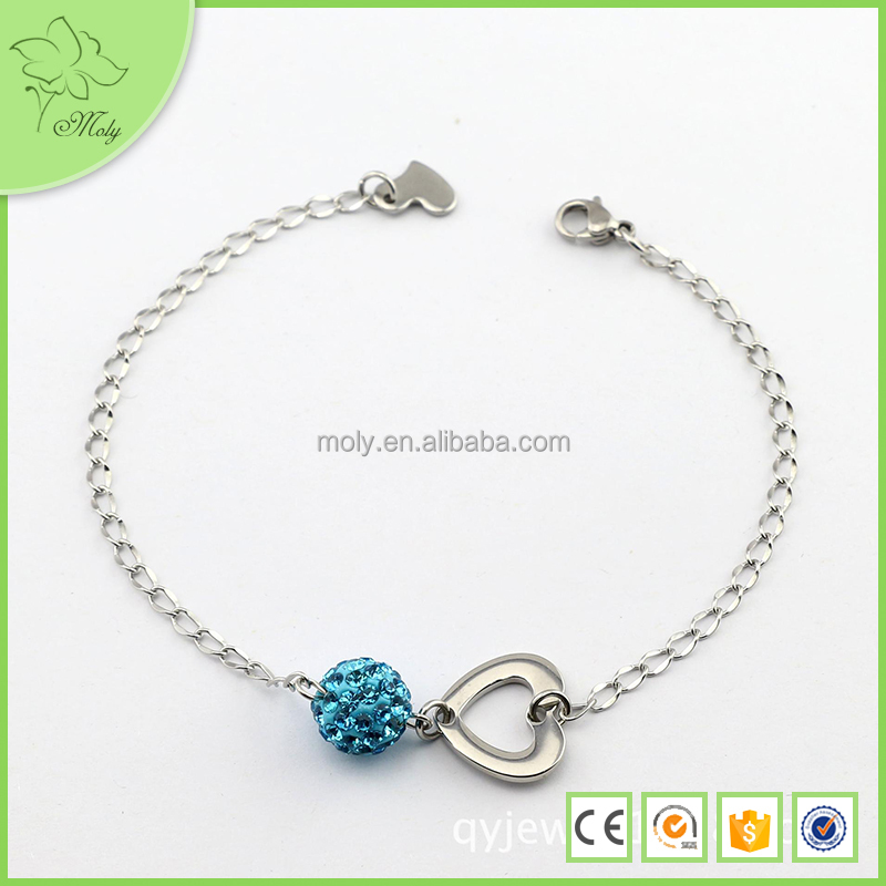 316l stainless steel anklet bracelet with buy