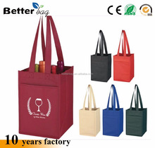 non woven beer bag, non woven beer bottle carry bags,wine bottle cooler bag sleeve 330ml