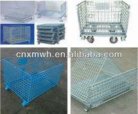 Collapsible storage box/wire storage box metal storage box