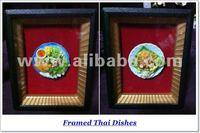 Food Clay Miniatures in Frame