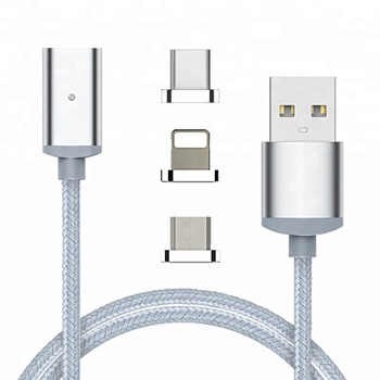 High quality magnetic cable, data line for iphone, micro, usb type c cable 2018