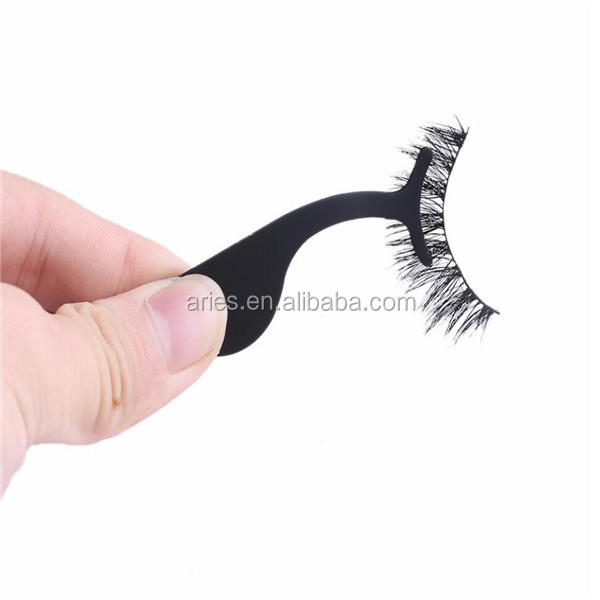 Best quality False Eyelash Applicator Tweezers / Eye Lash Tweezers / Curved Eyelash Applicator in good color coated