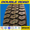 Rib Lug Pattern Bias Rubber Tire /Road And Mining Conditions Truck Tyre 10.00r20 11.00r20 12.00r20 DOUBLEROAD Brand In China