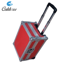 Heavy duty aluminum dj flight instrument hard equipment case