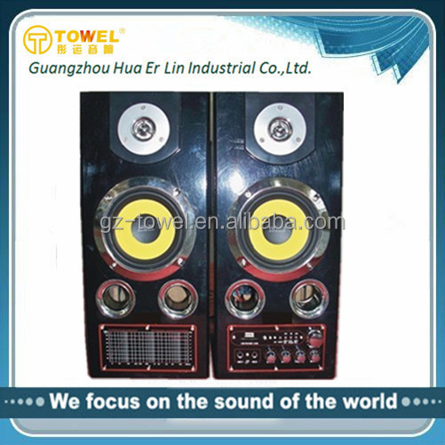 5.5 Inch USB SD FM Subwoofer DJ Sound Speaker Box Built In Amplifier Speaker