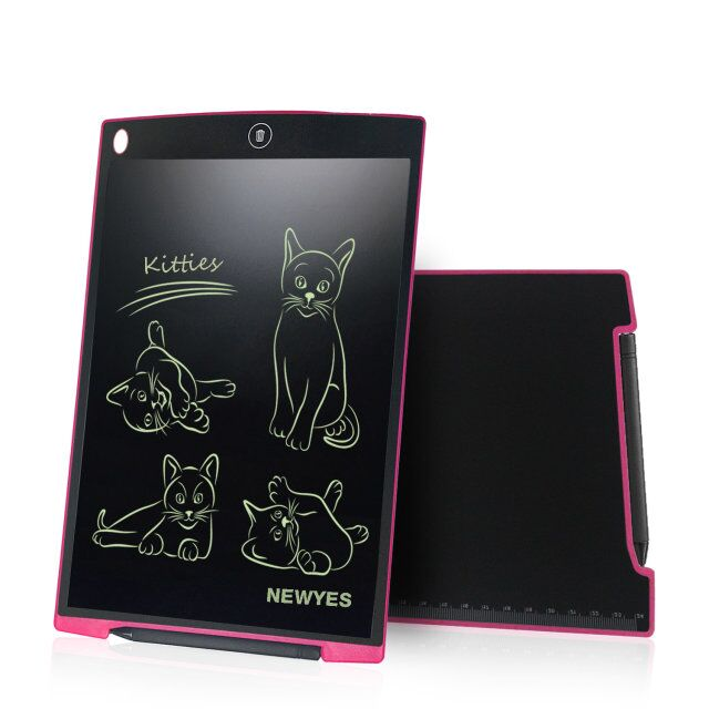 12 inch lcd drawing tablet rewritable digital note board writing pad