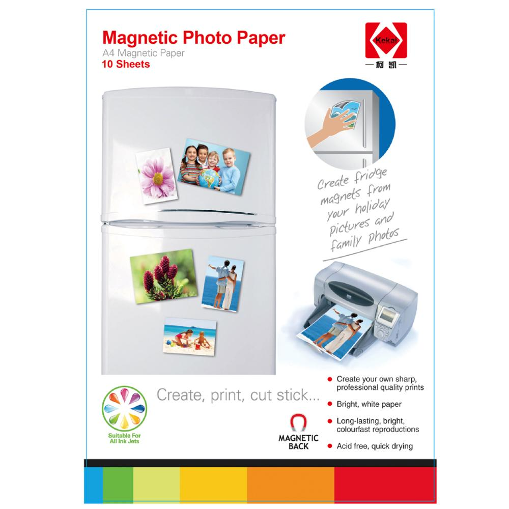 Magnetic glossy photo paper A4 - 210x297mm