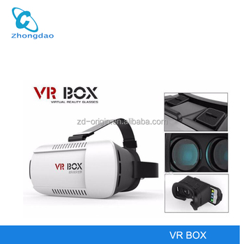 "Virtual Reality VR BOX HD High Quality 3D Helmet Phone Glasses for 4.7""-6"" phone 3D VR box"