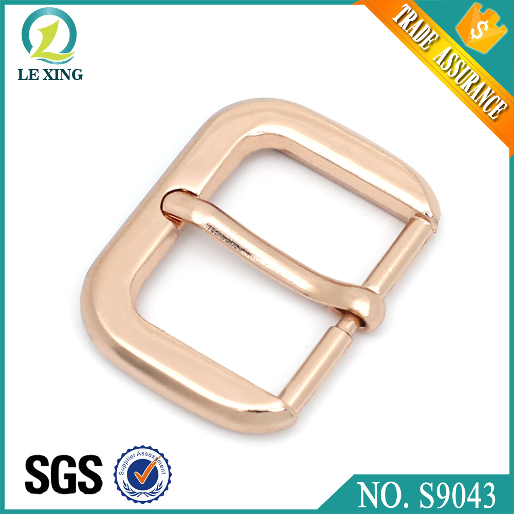 Wholesale fashion 25mm custom zinc alloy metal belt buckles bag and hanbag