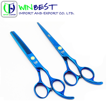 High Qulaity Sapphire Blue/Jelwery Blue/ Stainless Steel Proessioal Hair Dressing /Cutting Scissors