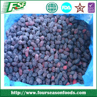 2015 Best prices newest iqf frozen fresh mulberries