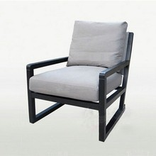 Latest design wood frame single seater sofa chair