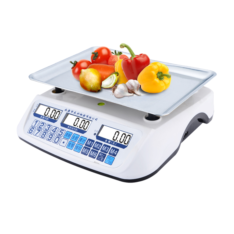 White Color 2017 Latest New Model YS- 868 Digital Scale Electric ,ABS Body,Power Supply As Charger To Phone.