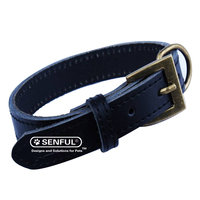 Leather Buckle Pet Dog Collar
