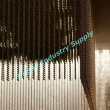 Bronze Color 6mm Metal Beaded Ceiling Curtains