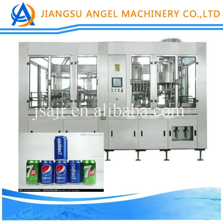 Factory price can/tin/jar filling machine/equipment for wine/soft drink/eneragy beverage with engineer oversea service
