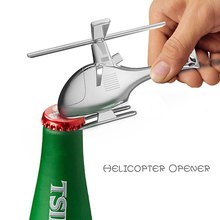 High Quality Stainless Steel Helicopter Matel Bar Wine Beer Opener