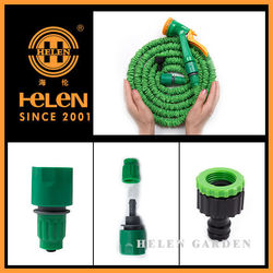 2015 Good Quality expandable water colorful garden hose toilet garden hose