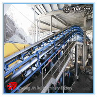 China new belt conveyor for soil chips manufacture