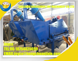 2016 New Technology High Efficiency Fine Sand Recycling Machine