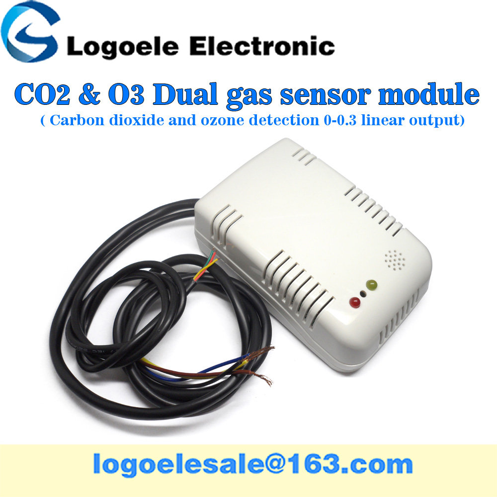 With shell MQ131 MG811 carbon dioxide ozone CO2 <strong>O3</strong> integrated gas sensor module