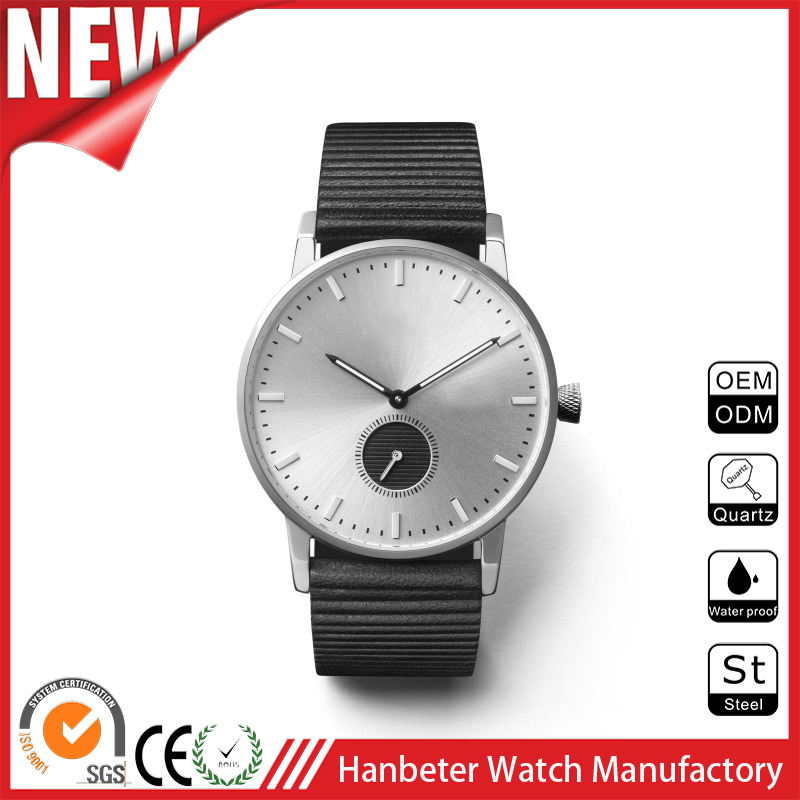 Custom High quality stainless steel japan movements quartz watch with your own logo