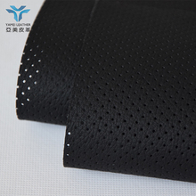 perforated pu microfiber leather for Car Seat Upholstery