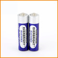 Super Quality pvc jacket r6 1.5v aa battery for toys