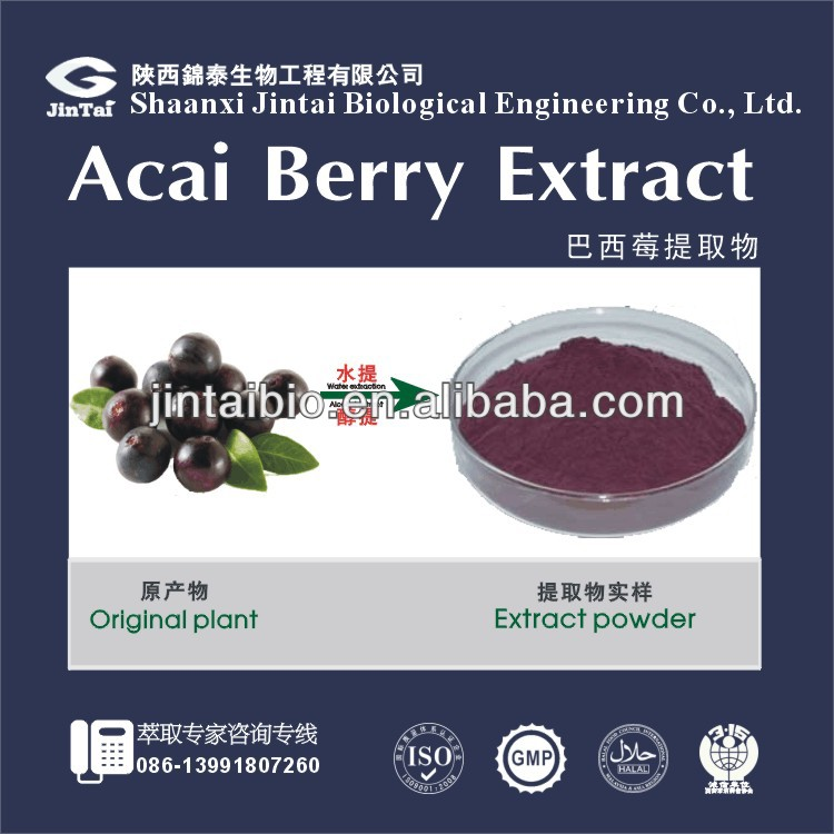 brazilian acai berry P.E. powder acai berry slim