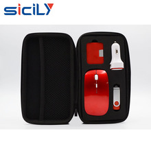 Promotional electronic gift pack Wireless Mouse, USB Flash Drive, USB Hub and Car Charger