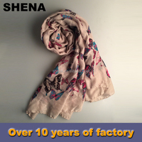 new style hot sale knitting lady women custom silk satin scarf dress price price for sale
