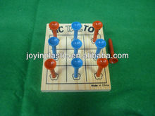 Tic Tac Toe/tic tac toe wooden board game set/ tic tac toe wooden board game